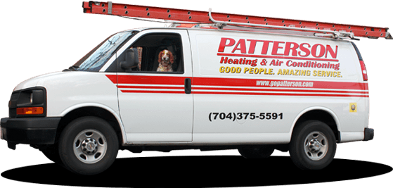Patterson Heating & Air - Van with Sophie