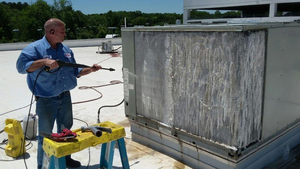 Air Conditioning Condenser Coil Cleaning Benefits