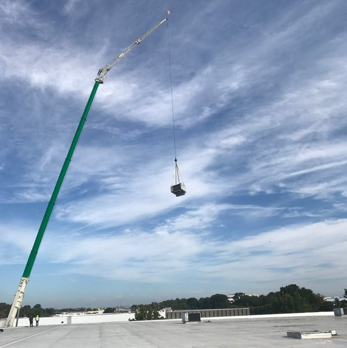 Commercial HVAC Unit Replacement