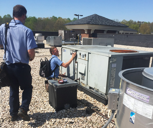 Commercial Air Conditioning and Heating Repair and Maintenance Technicians in Charlotte NC