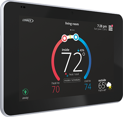 A Smart Thermostat is great way to monitor your Charlotte Home